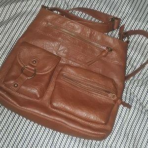 Brown purse